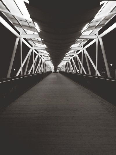 Blackandwhite Bridge Tapiola