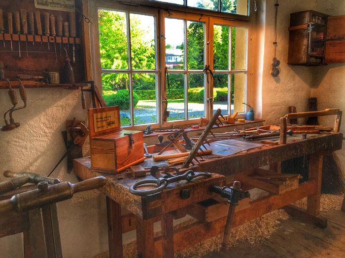 "Werkstatt in der ""Alten Wagnerei"" in Köditz. Working Place Werkstatt Lostplaces Working Museum Museums Franken Fichtelgebirge"
