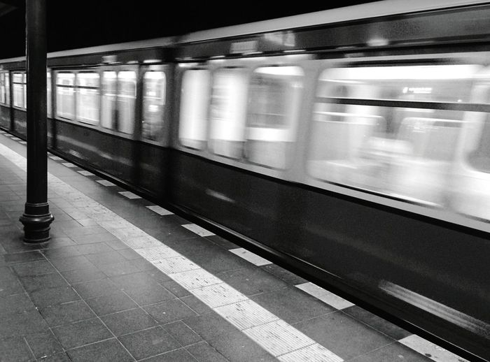 Day 189 - Just missed it :( Berlin Public Transportation Blackandwhite 365project 365florianmski Day189