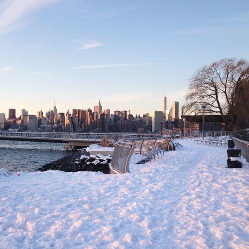 Greenpoint Brooklyn Winter Walk