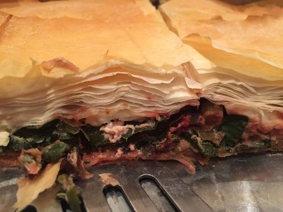 Spanakopita with beetroot leaves and radish leaves Filo Pastry Greek Food Homemade The Foodie - 2015 EyeEm Awards Homemade Food Flaky Pastry