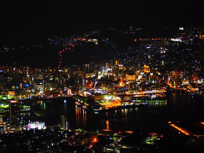 稲佐山 夜景 長崎 Nagasaki JAPAN