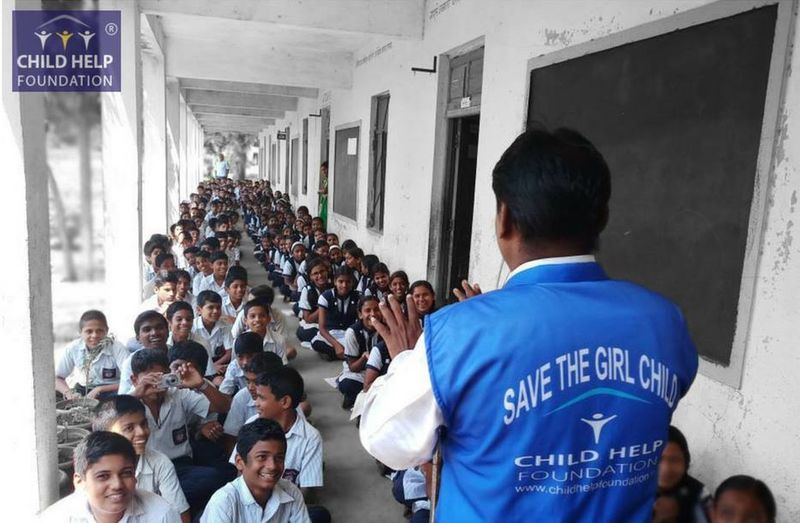We have to educate the young minds about the importance of a girl child so that they do not discriminate between a boy or a girl! An Initiative by Child Help Foundation | Save the Girl Child - ChildHelpFoundation Children NGO Students Education Girlchild Non-profit Organization Savegirlchild Teacher