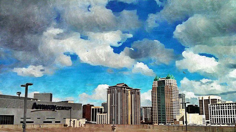 Working Hard Downtown Orlando  Orlando Magic The EyeEm Facebook Cover Challenge