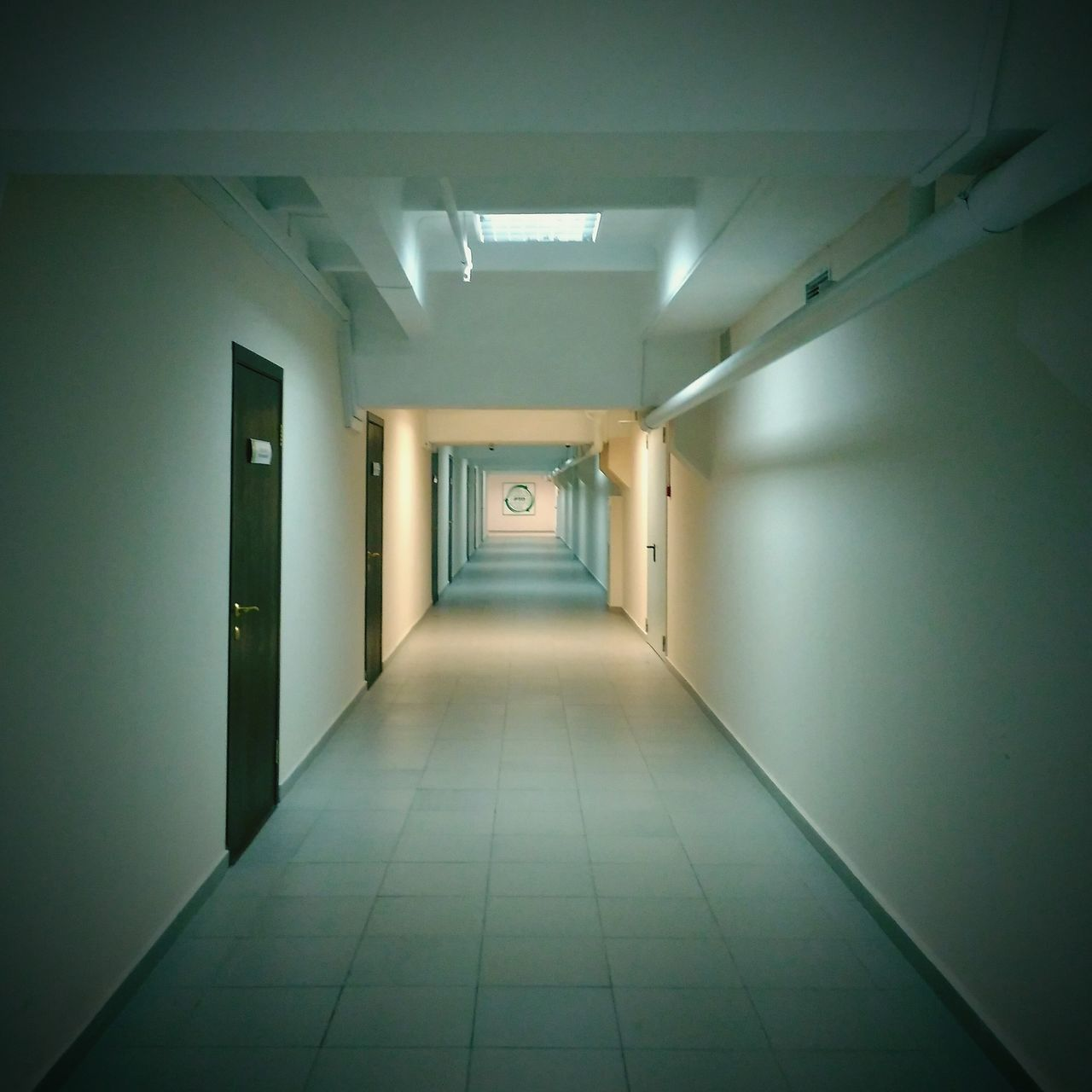 indoors, corridor, the way forward, empty, ceiling, architecture, illuminated, no people, built structure, day