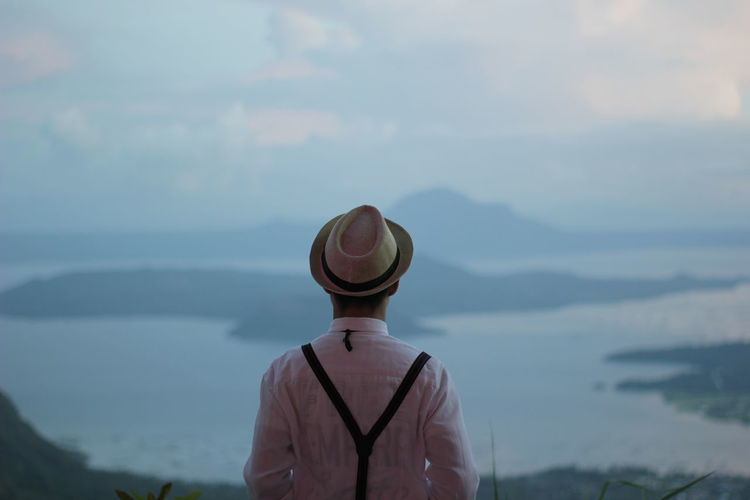 Hat Adult Rear View One Person Adults Only People Outdoors Cloud - Sky Sky Water Men Day Nature One Man Only Only Men Young Adult Environment Teen Vacations Real People Philippines Travel Clear Sky Nature Be. Ready. EyeEmNewHere The Traveler - 2018 EyeEm Awards The Great Outdoors - 2018 EyeEm Awards The Portraitist - 2018 EyeEm Awards Summer Road Tripping #urbanana: The Urban Playground A New Beginning