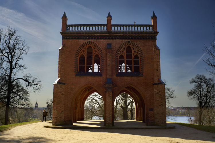 Arch Architecture Babelsberg Babelsberger Park Built Structure Day No People Outdoors Pots Sky Tree