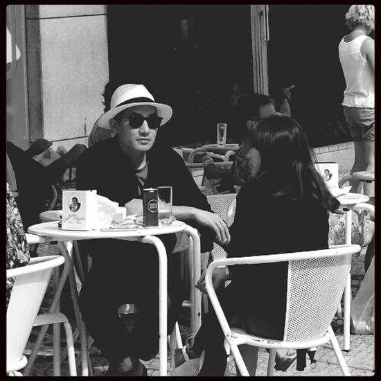 Lisbon Streetphotography Blackandwhite Monochrome