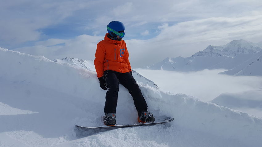 Snow Winter Cold Temperature Winter Sport One Person Sport Warm Clothing Snowboarding Ski Holiday Skiing Adventure