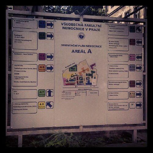 Oh, where am I? Vfn Praha Prague Nemocnice hospital karlak