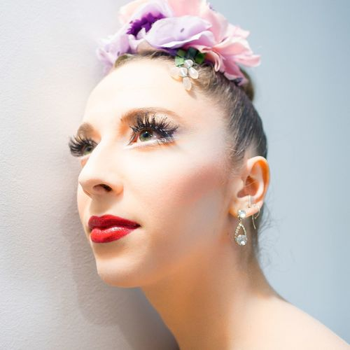 Gretchen New York City Ballet Ballerina Portrait Close-up Color Portrait Portrait Of A Woman Colors Makeup
