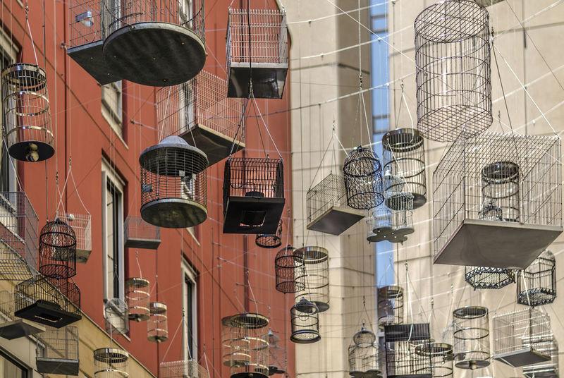 jaulas vacias Jaulas Urbana Ciudad Australia Urbana Dia Architecture Built Structure Building Exterior Geometric Shape