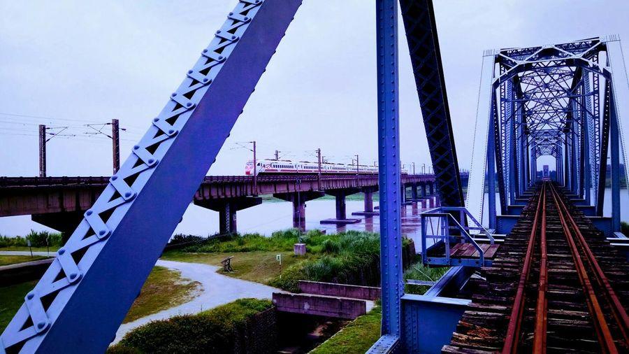 「舊鐵橋」1/2500sec f/2.0 ISO 1600Taiwan Bridge - Man Made Structure Railroad Track Outdoors No People EyeEmNewHere Shot By Phone Be. Ready.