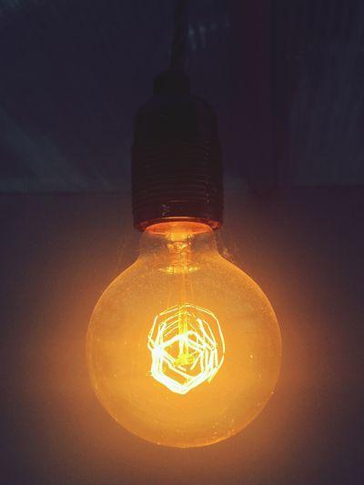 Illuminated Technology Glowing