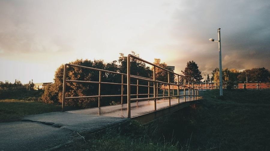 Just go People And Places Road Sky Cloud - Sky Tranquil Scene Day Outdoors Nature Tranquility Scenics Urban Relaxing Vscocam VSCO Photo Check This Out Retro Metal Hello World Photography Enjoying Life City Town Chilling Bridge