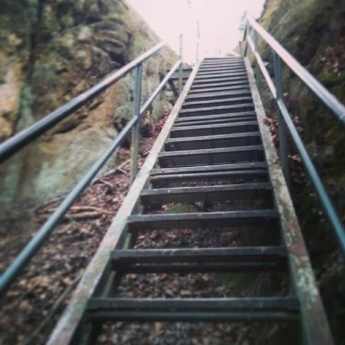 Some steps are hard to climb!