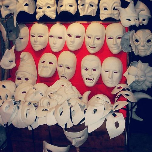 Venice masks Large Group Of Objects Indoors  Close-up No People Full Frame Masks Italy Venice