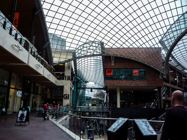 Architecture Brisbane Cabot Circus City City Life Eyeem Photography Getty Images Glass Low Angle View Mall Open People Peoplephotography Roof Structure