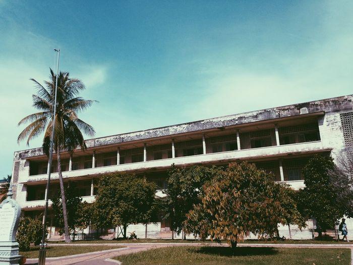 Tuol Sleng Genocide Museum VSCO Cam Cambodia