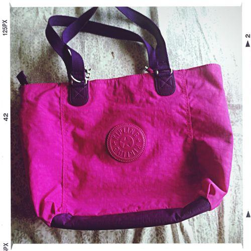 Kipling Bag Pink Purple