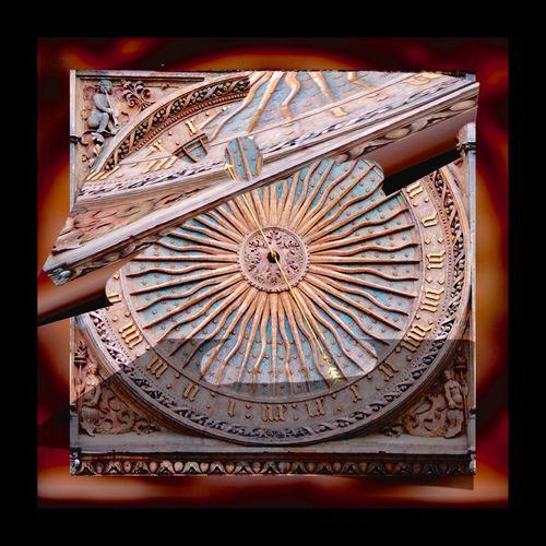 Détournement de l'horloge de 24 heures (une seule aiguille) de la cathédrale de Chartres EyeEm Masterclass EyeEm Best Edits Creative Creativity Art, Drawing, Creativity Cathédrale De Chartres Horloge Clock Getting Inspired Abstract