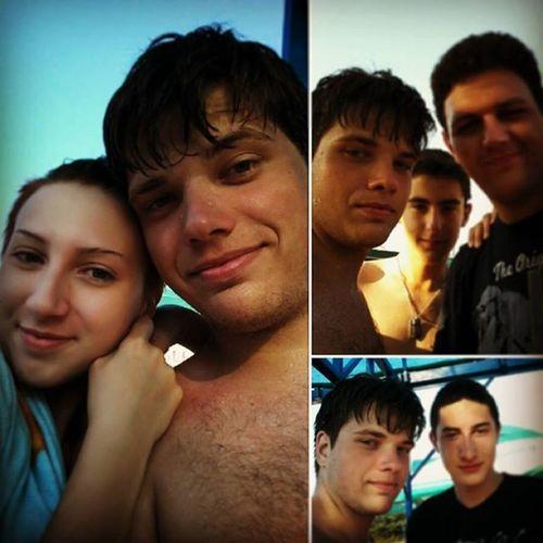 Malo smo se brčkali! ^_^ Pool Fun In The Sun Friends Water Burnedskin