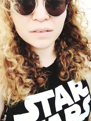 Sunglasses Portrait Long Hair Antalya♥ Beach Sea Holiday Peace Star Wars Jedi MayTheForceBeWithyou