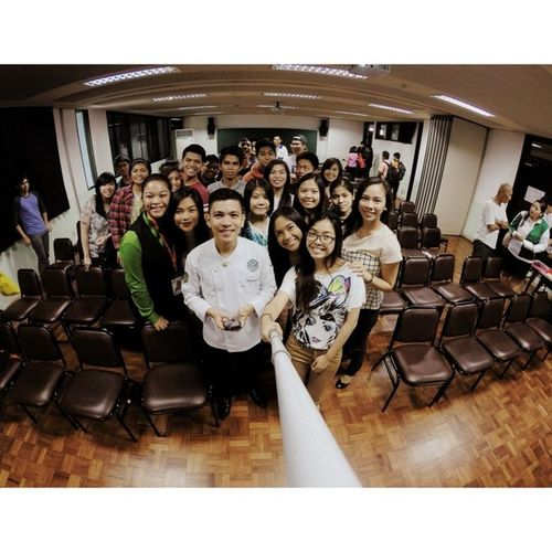 """After the seminar """"Hashtag Foodgasm: A Glimpse to Food Photography and Food Styling"""" YHE MAFBEX Foodgasm Oscarselfie themanansala"""