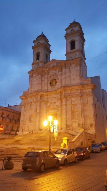 Chiesa di S.Anna😊 Instagramlove Night Sardegna Instgram EyeEm Day