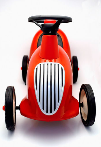 Front of toy car