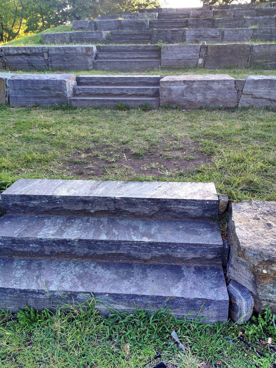 grass, steps, outdoors, day, ancient, history, steps and staircases, no people, built structure, nature, ancient civilization