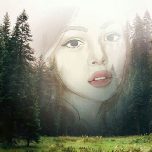 The girl behind the TREES ☺️☺️ One Woman Only Only Women Beautiful Woman Human Face Beauty Fog Females Fantasy One Young Woman Only One Person Adults Only Young Adult People Adult Bizarre Human Body Part Mystery Window Portrait Headshot