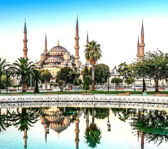 Place Of Worship Dome Travel Reflection Religion Arrival City Sunset Business Finance And Industry Architecture Travel Destinations No People Cross Section Sky Outdoors Cityscape Cultures Day Turkey💕 Istanbul Ayasofya