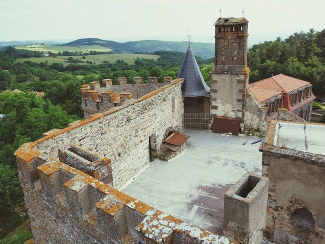 Chateau de chazeron Architecture Château