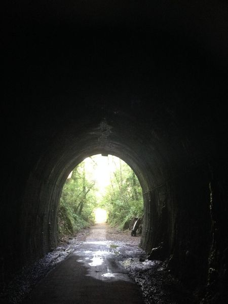 Tunnel mouth Railway Rail Road Abandoned Places Abandoned Somerset England Strawberry Line