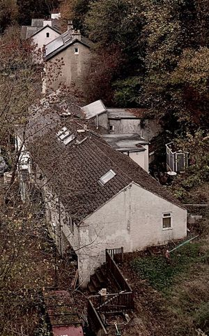 Village Rooftop Cottage High Angle View Iphone Xs
