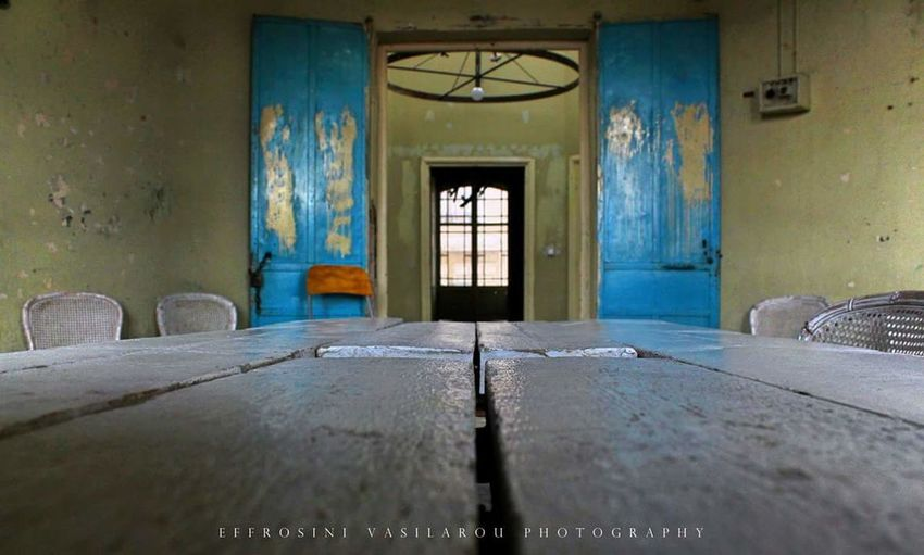 Bensousan Han #building #architecture #old #vintage #beautiful #perspective #room #door #windows #photography #canon700d #Thessaloniki #Greece #skg The Architect - 2018 EyeEm Awards Domestic Room Business Finance And Industry Abandoned House Window