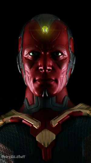 Check This Out Marvel Inifintywars Hottoys Onesixthscale Toyphotography Vision