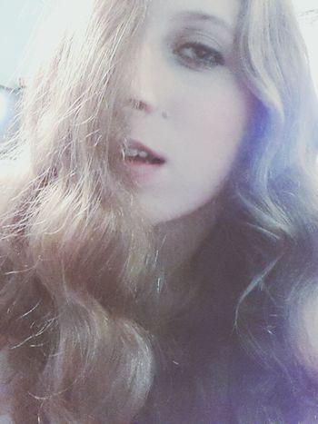 Girl Smokeyeye Haireverywhere Seductive