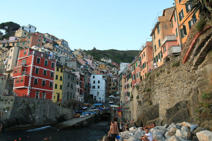 Habour Old Town Scenery Enjoying Life Cinqueterre Old Buildings Urban Geometry Eye4photography  Italian Riviera Liguria
