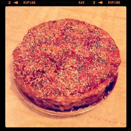 сделали с Рыжулей красоту)) ням Eeeah Cool Yami Cake tasty delicious