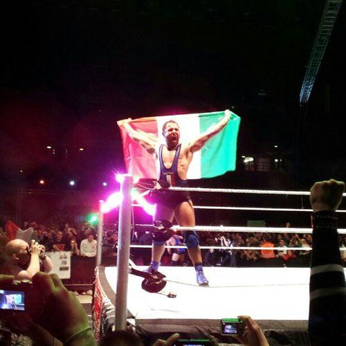 Santino Marella trionfa e mantiene la cintura di US Champion Wwe Raw Milan 2012