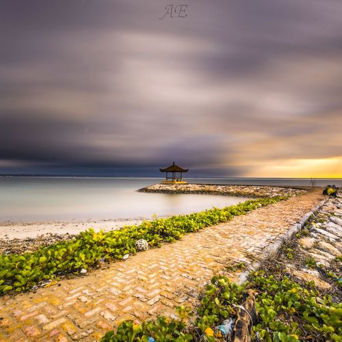 my smooth EyeEm Selects Water Sea Tree Sunset Nautical Vessel Beach Low Tide Red Sunlight Sunny Seaweed Seascape Moody Sky Tide Dramatic Sky Romantic Sky Calm