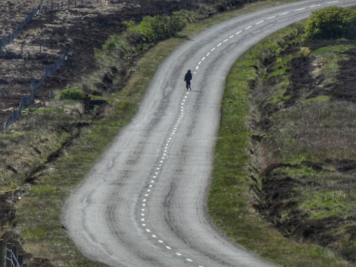 We all walk the long road... Unrecognizable People Unrecognizable Isle Of Lewis VisitScotland Transportation Road High Angle View Mode Of Transportation Land Vehicle Day My Best Photo Nature The Way Forward Travel Direction People Outdoors Car Incidental People Curve Real People Beauty In Nature Land My Best Photo