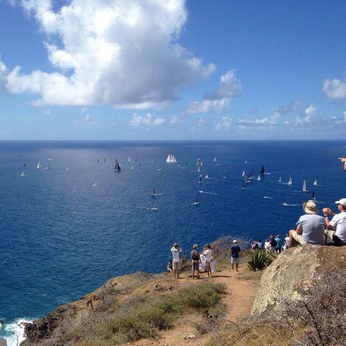 Taking Photos Hello World Amazing View English Harbour Boats Enjoying Life Carribean Antigua Sailing Ocean View