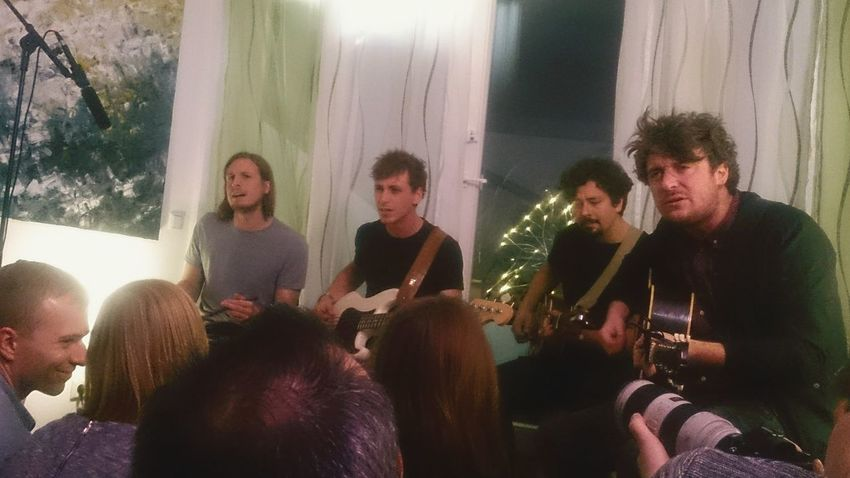 Livingroom Concert Packed TakeoverMusic
