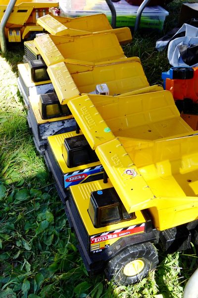 One of my favorite childhood toys, Tonka dump truck. Tonka Tonka Trucks Tonka Dump Truck Toytruck Toys Durable Durable Goods Tough Tonkatoy Tonka Tough Happiness