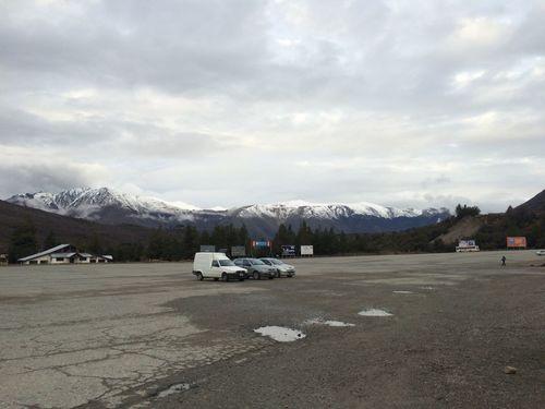 Parking Lot Parking Lots Ski Center Cerro Catedral Cerro Catedral Mountains Open View Mountain Clouds And Sky