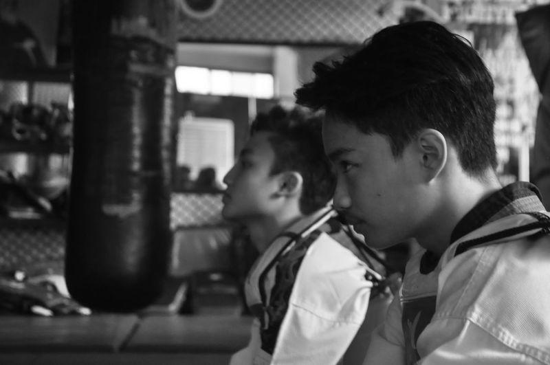 Headshot Two People Taekwondo Blackbelt Manila EyeemPhilippines