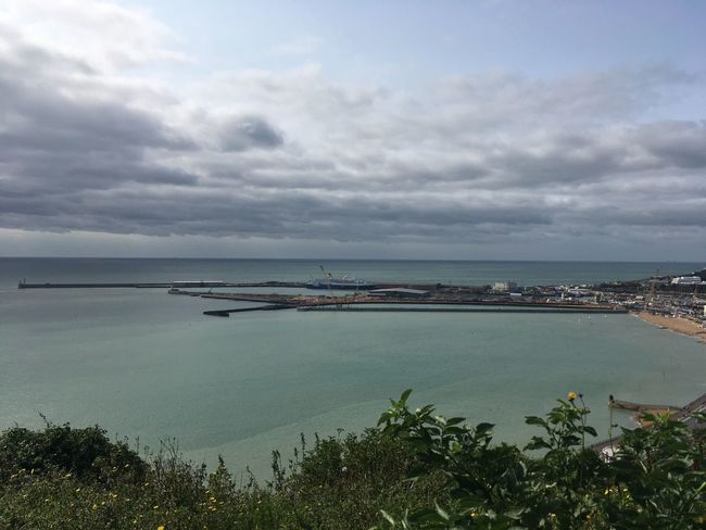 Dover Seafront Dover Sea Sky Water Sea Cloud - Sky Beauty In Nature Nature Scenics - Nature Sky Water Sea Cloud - Sky Beauty In Nature Nature Scenics - Nature No People Outdoors Travel Plant Horizon Over Water Tranquil Scene Tranquility Land Beach Tree Horizon